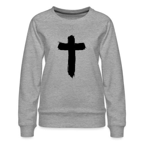 Brushed-Cross - Frauen Premium Pullover