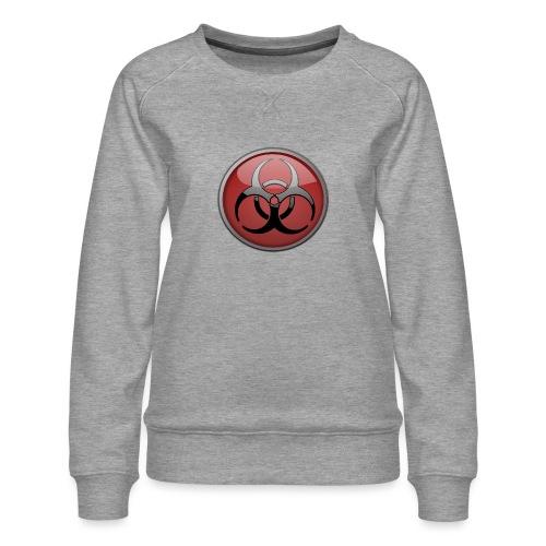 DANGER BIOHAZARD - Frauen Premium Pullover