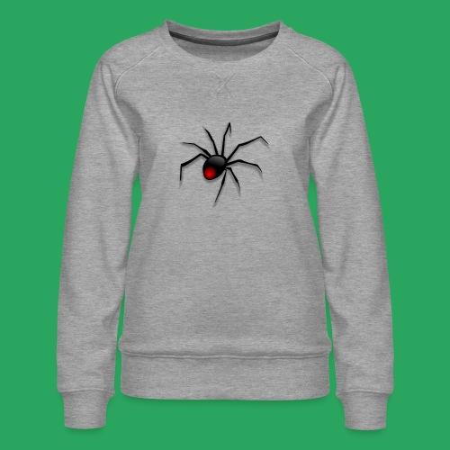 spider logo fantasy - Felpa premium da donna