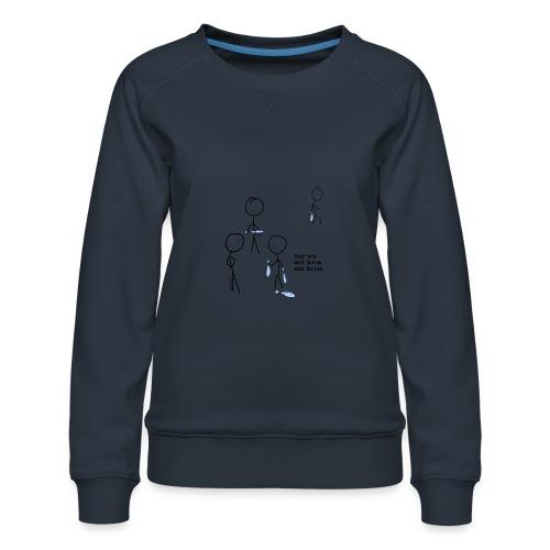 har sei png - Premium-genser for kvinner