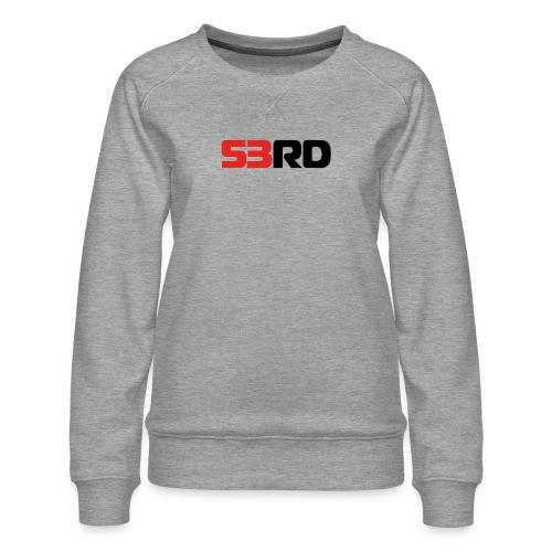 53RD Logo lang (schwarz-rot) - Frauen Premium Pullover