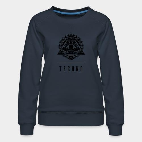 the EYE of TECHNO - Frauen Premium Pullover