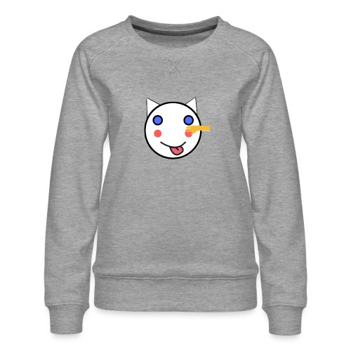 Alf Cat With Friend | Alf Da Cat - Women's Premium Sweatshirt