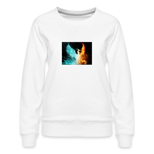 Elemental phoenix - Women's Premium Sweatshirt