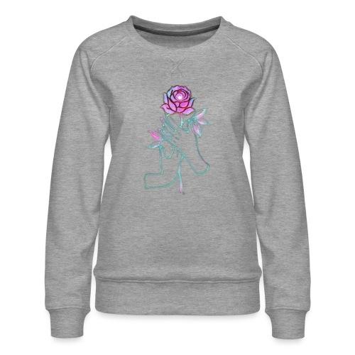 Fiore - Felpa premium da donna