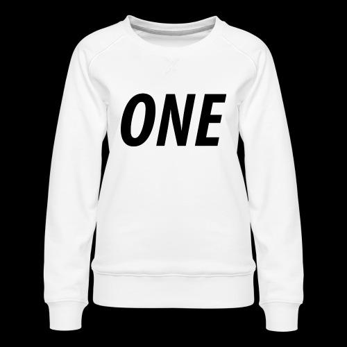 WEAREONE x LETTERS - Vrouwen premium sweater