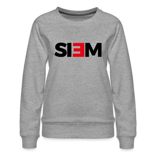 siem_zwart - Vrouwen premium sweater