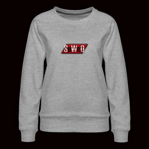 SoWeQ Navneskilt - Dame premium sweatshirt