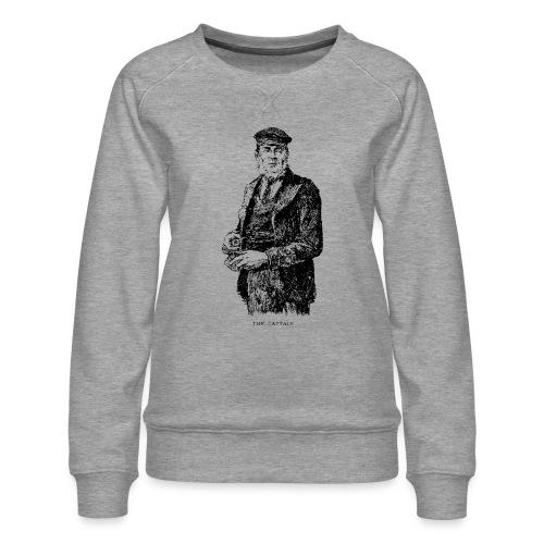 the captain - Women's Premium Sweatshirt