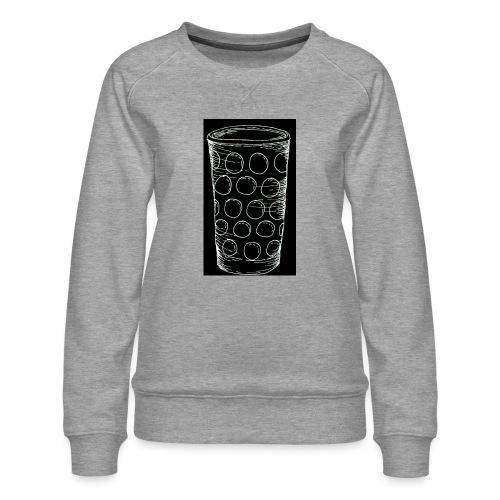 Leergut Dubbeglas -schwarz - Frauen Premium Pullover