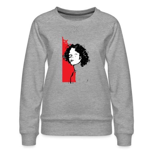 L'enfant rouge représente la terre rouge d'Afrique - Sweat ras-du-cou Premium Femme