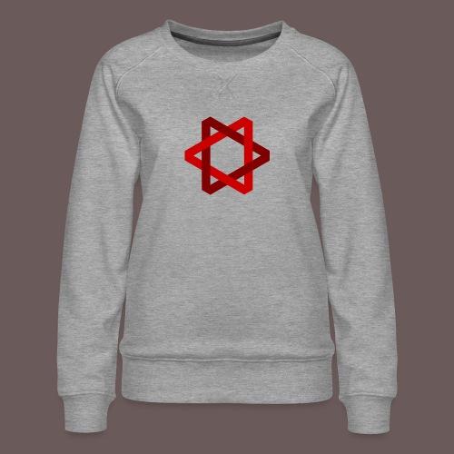 Two Triangles - Dame premium sweatshirt
