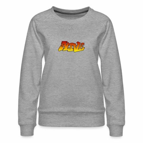 ALIVE CGI - Women's Premium Sweatshirt