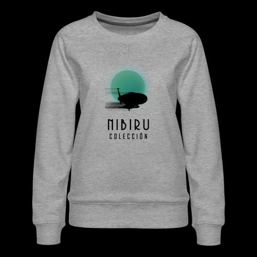 NibiruLogo - Sudadera premium para mujer