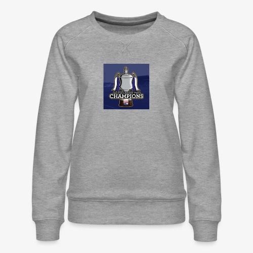 MFC Champions 2017/18 - Women's Premium Sweatshirt