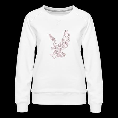 Eagle circuit - Dame premium sweatshirt