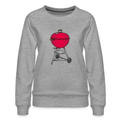 Grill BBQ c - Frauen Premium Pullover