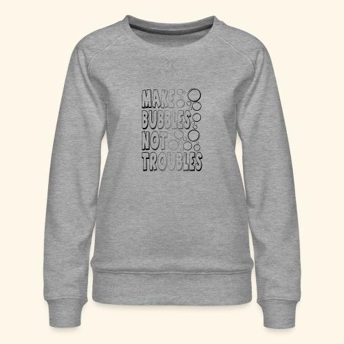 Bubbles002 - Vrouwen premium sweater