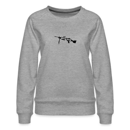 M249 SAW light machinegun design - Vrouwen premium sweater