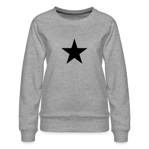 Ardrossan St.Pauli Black Star - Women's Premium Sweatshirt