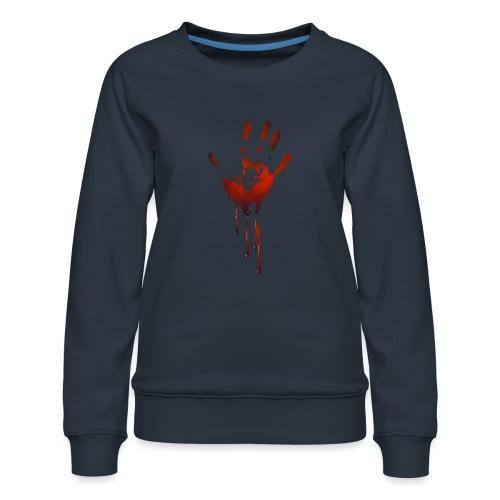 tænk dig om - Dame premium sweatshirt