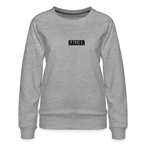 MyLogoUpdate - Women's Premium Sweatshirt