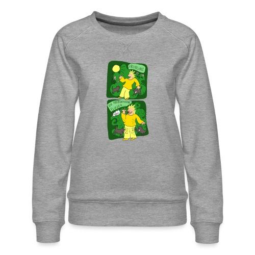 Katzenhaare - Frauen Premium Pullover