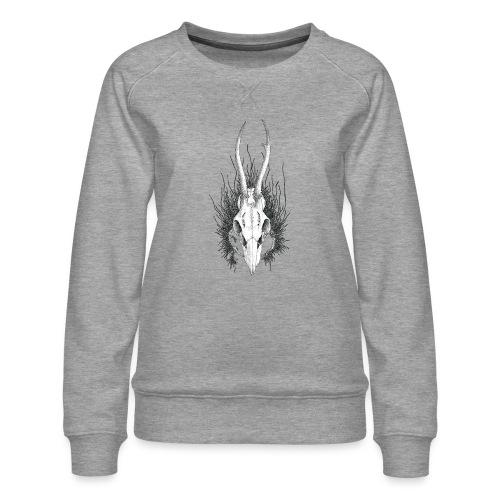 Schädelstruktur - Frauen Premium Pullover