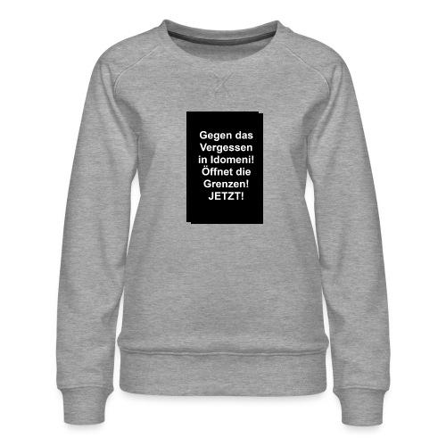 Gegen das Vergessen - Frauen Premium Pullover