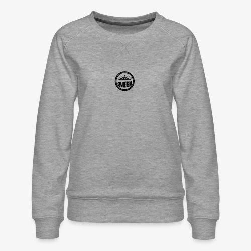 Queen Brustlogo - Frauen Premium Pullover