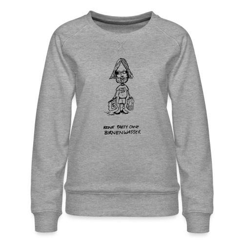 Birnenwasser - Frauen Premium Pullover