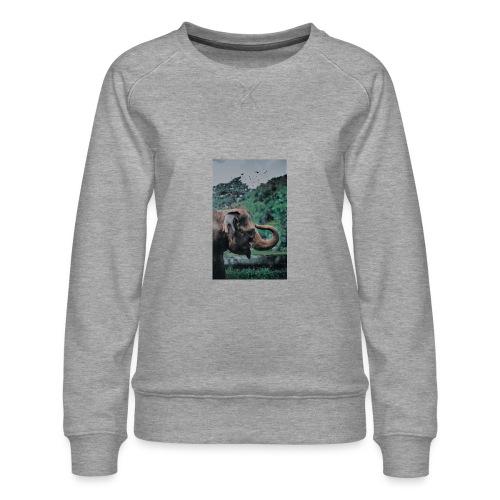 Elephant - Women's Premium Sweatshirt