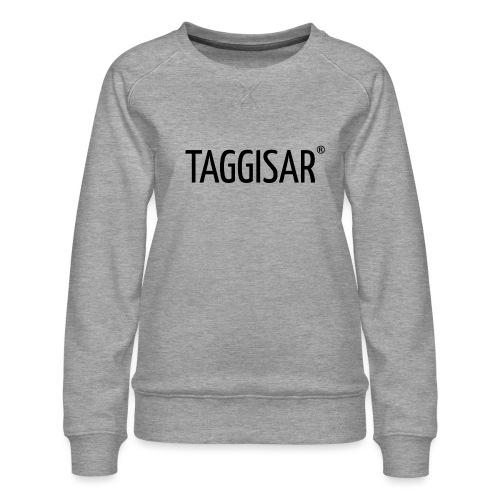 Taggisar Logo Black - Premiumtröja dam
