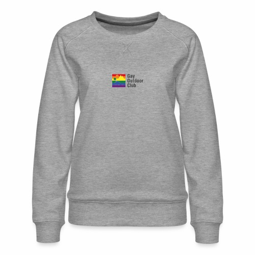 GOC Logo Black Text - Women's Premium Sweatshirt