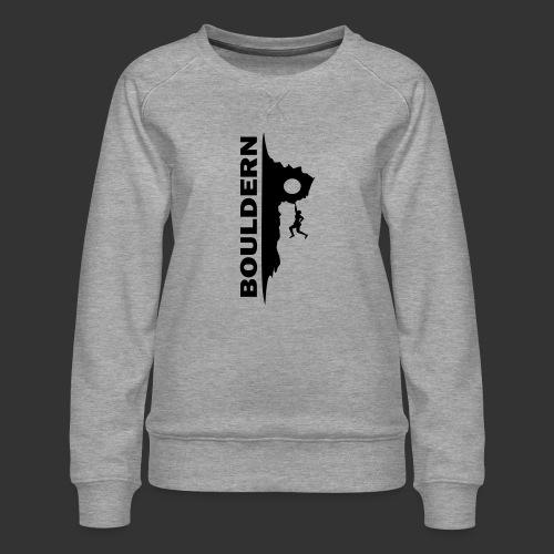Bouldern - Frauen Premium Pullover