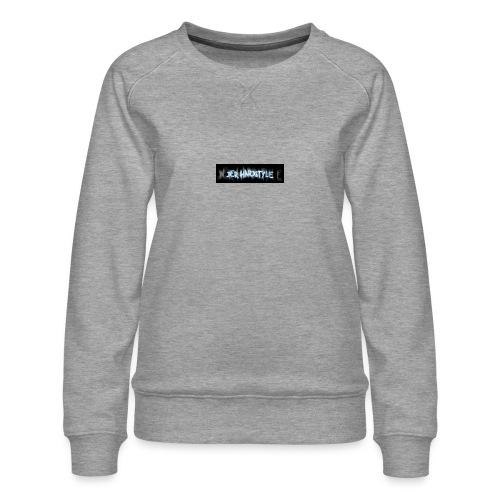 DerHardstyle.ch Kleines Logo - Frauen Premium Pullover