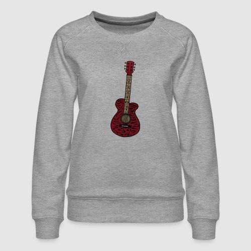 Gitarre - Frauen Premium Pullover