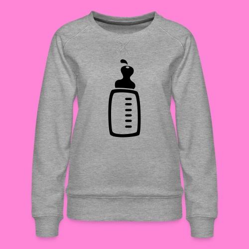 melkfles1 - Vrouwen premium sweater