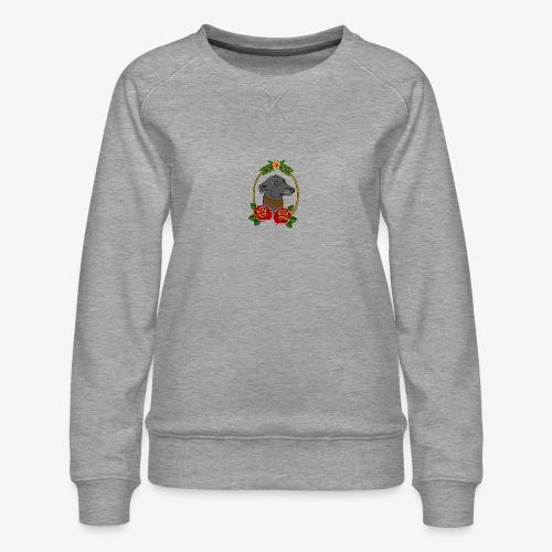 Blue Greyhound - Women's Premium Sweatshirt