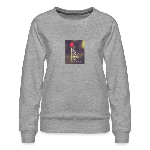 IMG 20180308 WA0027 - Women's Premium Sweatshirt