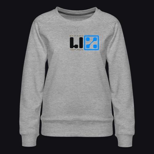 LIZ Before the Plague (Logo) - Felpa premium da donna
