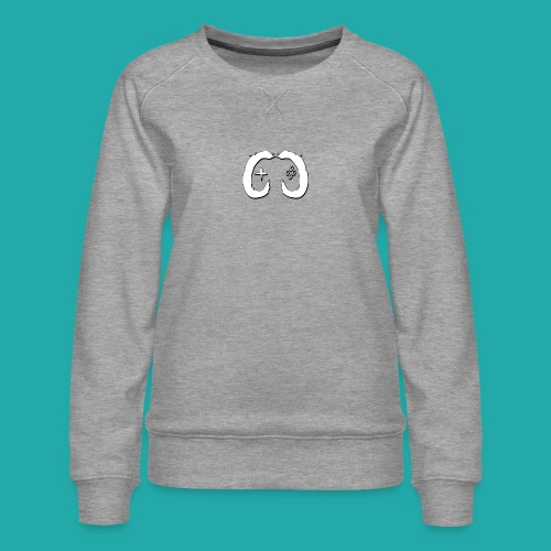 Crowd Control Logo - Women's Premium Sweatshirt