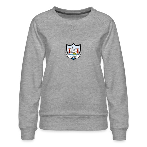 Cork - Eire Apparel - Women's Premium Sweatshirt