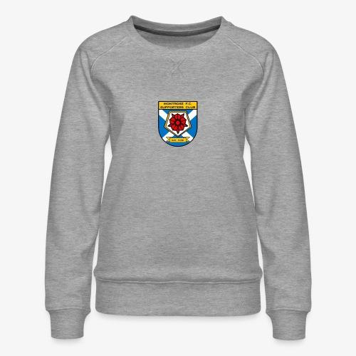 Montrose FC Supporters Club - Women's Premium Sweatshirt