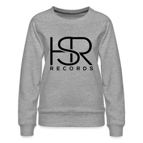 HSR RECORDS - Felpa premium da donna