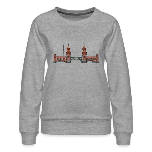 Oberbaumbrücke BERLIN - Frauen Premium Pullover