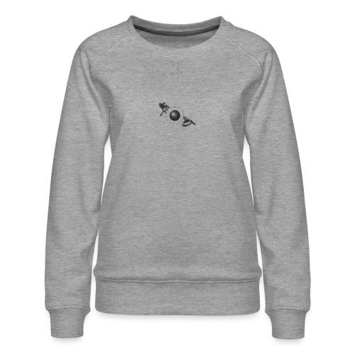 The Pulling Birds - Logo [BLACK] - Women's Premium Sweatshirt