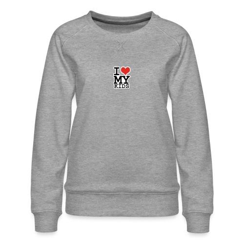Love To Kids! - Dame premium sweatshirt
