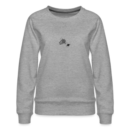 The Sticks - Logo [BLACK] - Women's Premium Sweatshirt