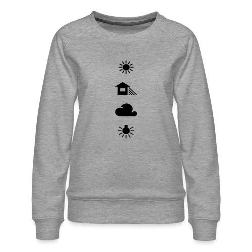 Weissabgleich - Frauen Premium Pullover